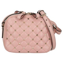 Valentino Women's Cross body bags Spike Pink
