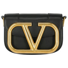 Valentino Women's Crossbody Bag Black Leather