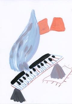 Cuando soy pajaro y toco el piano