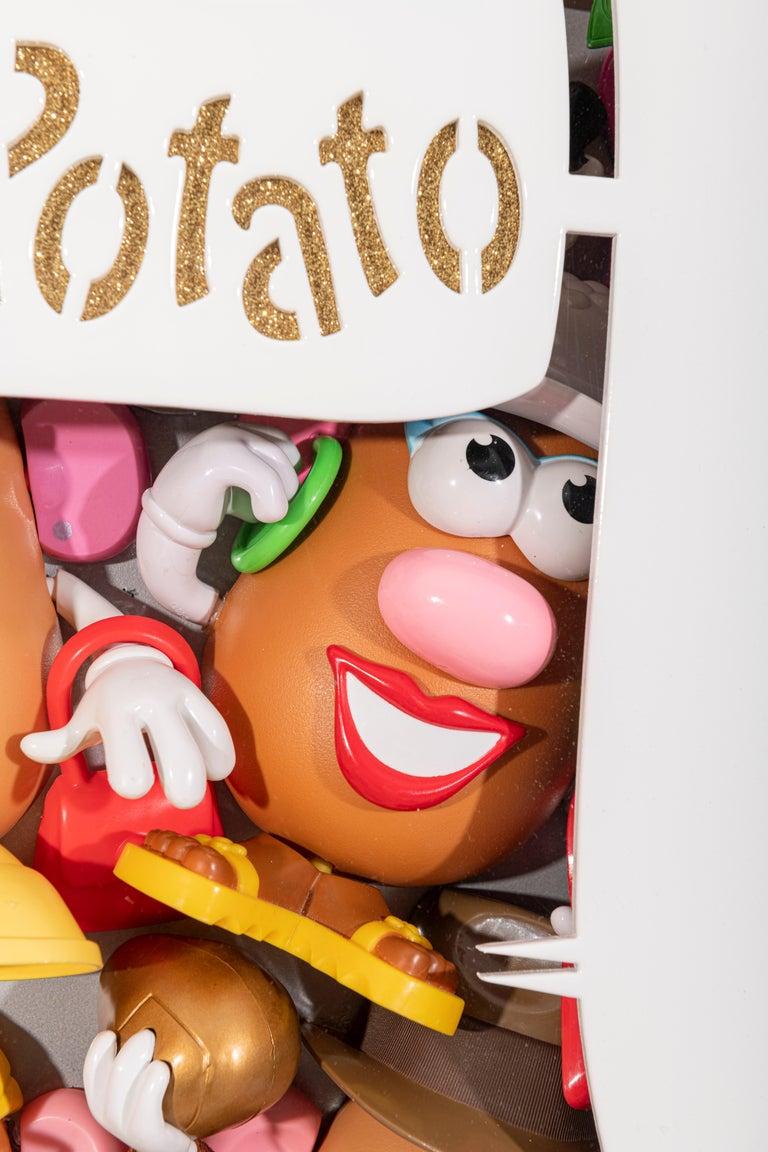 Dirty Mr. Potato  - Pop Art Sculpture by Valerie Carmet
