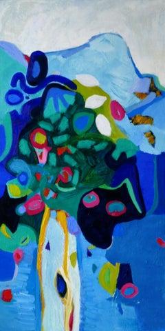 Alpine Bouquet, Painting, Oil on Canvas