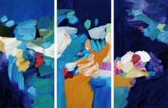 In The Midnight Velvet, Painting, Acrylic on Canvas