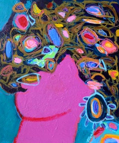The Shifting Wig, Painting, Acrylic on Canvas