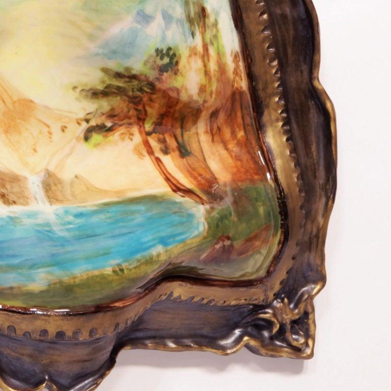 Warped Landscape - Beige Still-Life by Valerie Hegarty