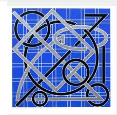 Untitled, 1986  Valerie Jaudon  ED. 72 signed silkscreen NEW