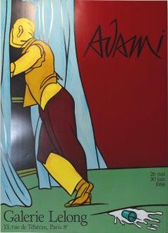 """Valerio Adami - """"Galerie Lelong Poster"""""""
