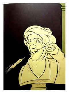 Valerio Adami -  Original Lithograph