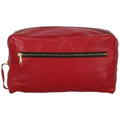 Valextra Woman Handbag Red Leather