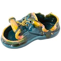 Vallauris Ashtray or Vide-Poche Shoe, Midcentury