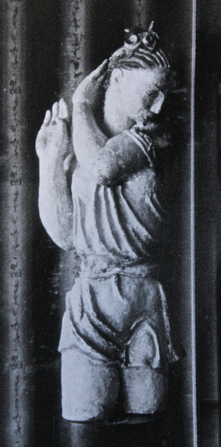 Vally Wieselthier Important Ceramic Head, & Hand from Wiener Werkstätte Showroom For Sale 7