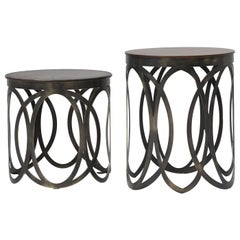 Valzer Set 2 of Side Tables Tribeca Collection by Marco and Giulio Mantellassi