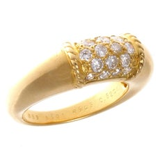 Van Cleef & Arpels Diamond Gold Philippine Ring