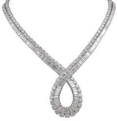 Van Cleef & Arpels Diamond Loop Necklace