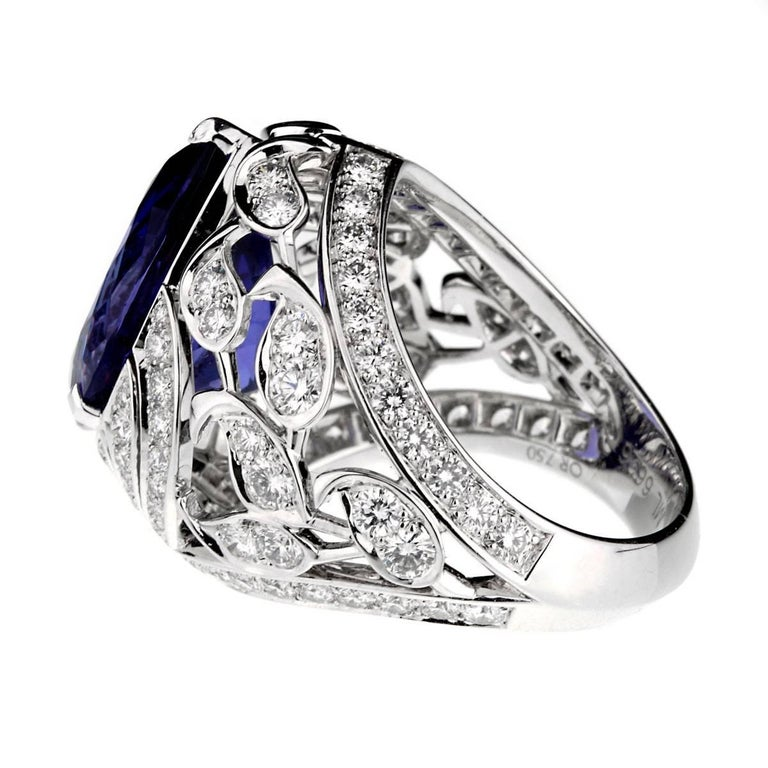 Van Cleef & Arpels Les Jardins Tanzanite Diamond Suite For Sale 1