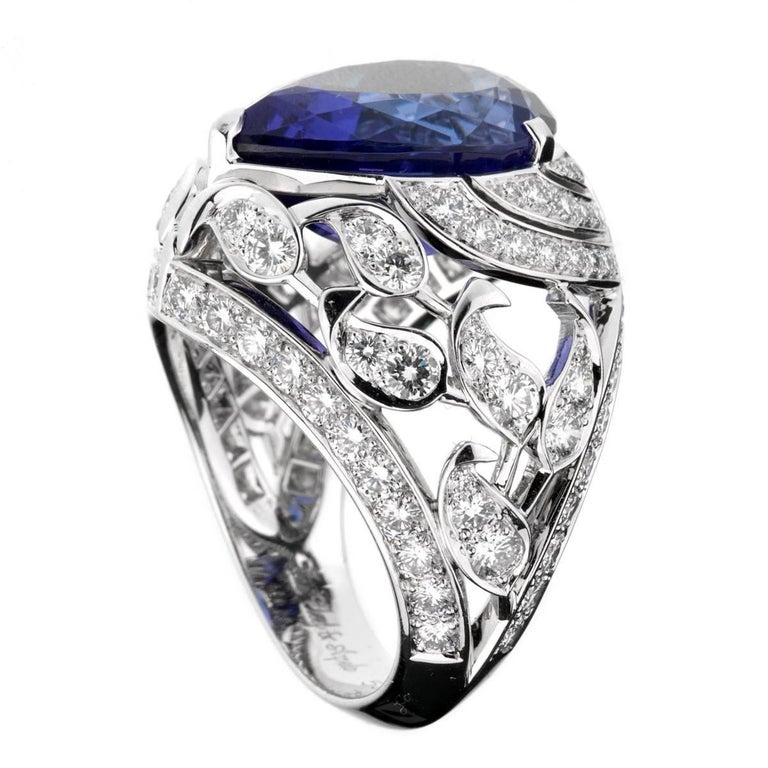 Van Cleef & Arpels Les Jardins Tanzanite Diamond Suite For Sale 2