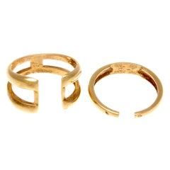 Van Cleef & Arpels Two-Part Gold Ring