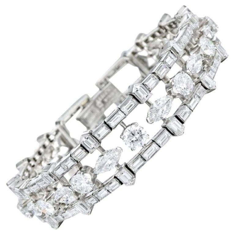 Van Cleef and Arpels Diamond Bracelet For Sale