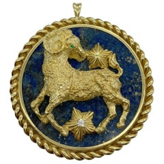 Van Cleef and Arpels Zodiac Pendant
