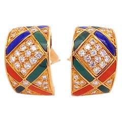Van Cleef & Arpels 18 Karat Gold Ear Clip