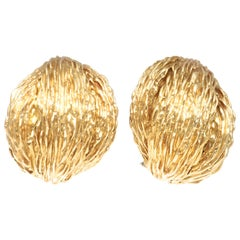 Van Cleef & Arpels 18 Karat Gold Earrings