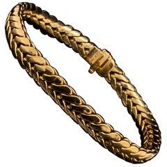 Van Cleef & Arpels 18 Karat Yellow Gold Bracelet