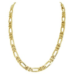 Van Cleef & Arpels 18 Karat Yellow Gold Long Chain Gold Necklace 129.7g