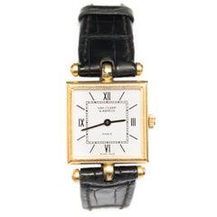 Van Cleef & Arpels 18 Karat Yellow Gold Wrist Watch, 1970