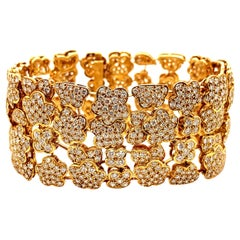 Van Cleef & Arpels 18k Gold Diamond 'Melusine' Bracelet