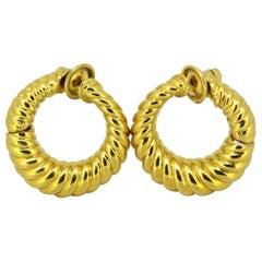 Van Cleef & Arpels 18 Karat Yellow Gold Earrings
