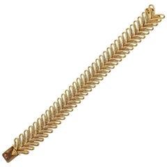 Van Cleef & Arpels 1960s Gold Bracelet