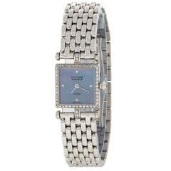 Van Cleef & Arpels 322942 18 Karat White Gold Diamond Swiss Quartz Ladies Watch