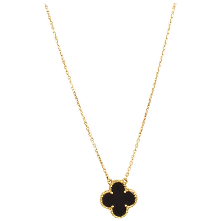 Van Cleef & Arpels Alhambra Pendant Necklace