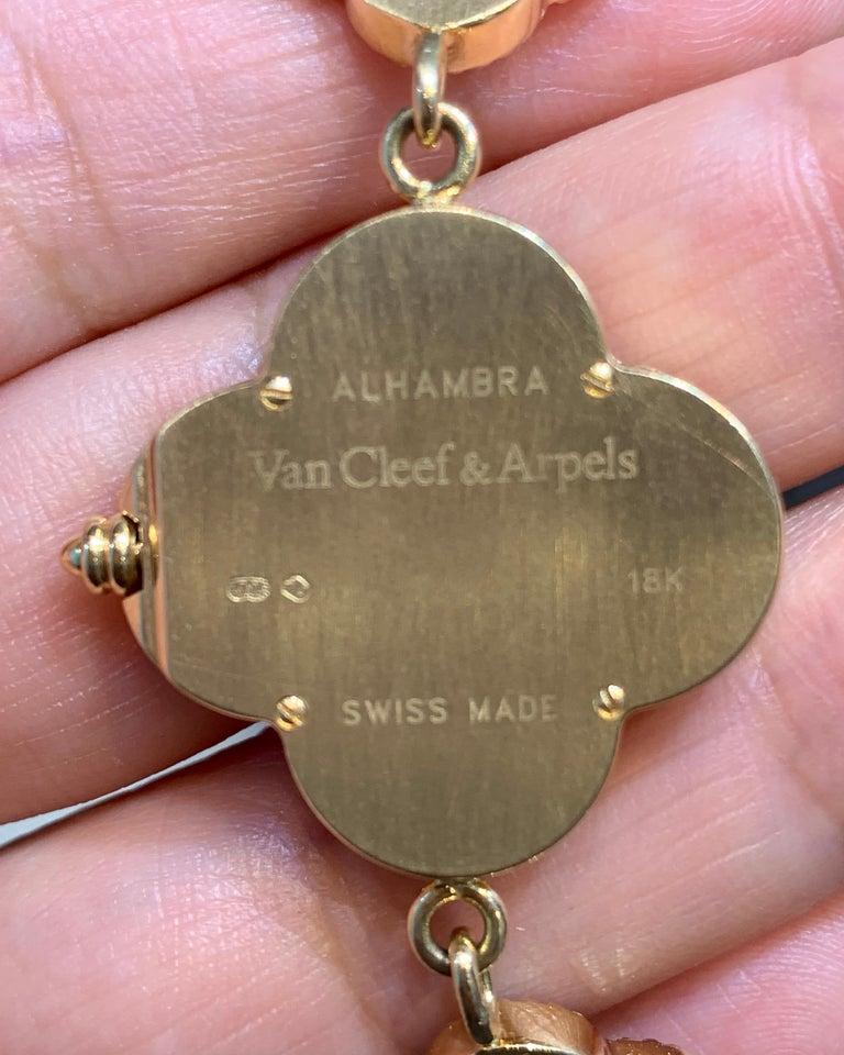 Women's Van Cleef & Arpels Alhambra Watch For Sale