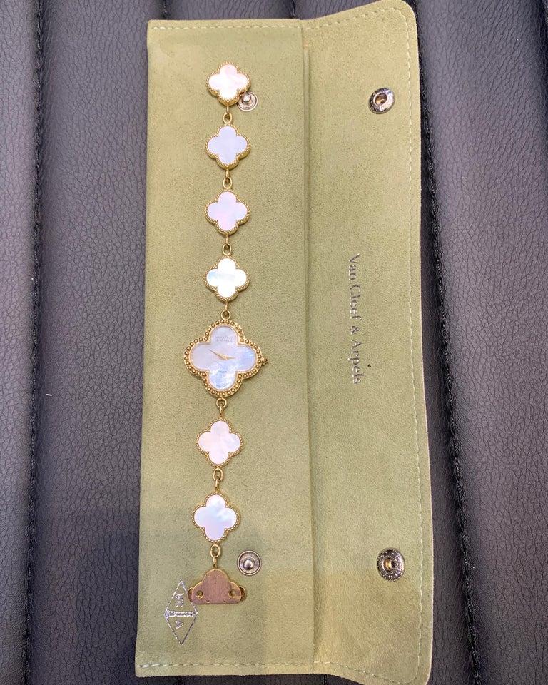 Van Cleef & Arpels Alhambra Watch For Sale 1