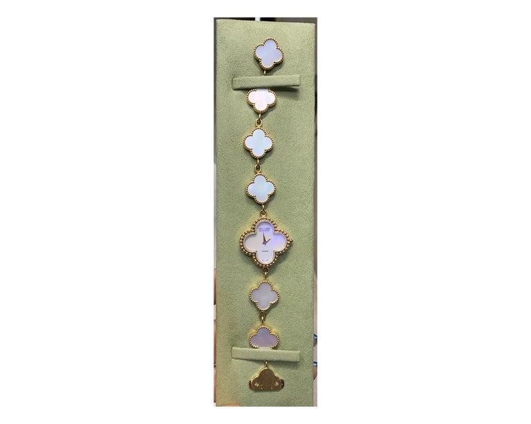 Van Cleef & Arpels Alhambra Watch For Sale 2