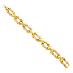 Van Cleef & Arpels Angel Skin Coral Gold Bracelet