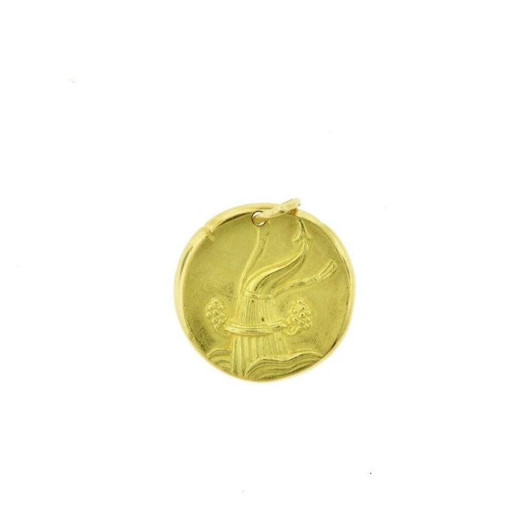 Style: Pendant / Coin / Charm  Theme: Zodiac