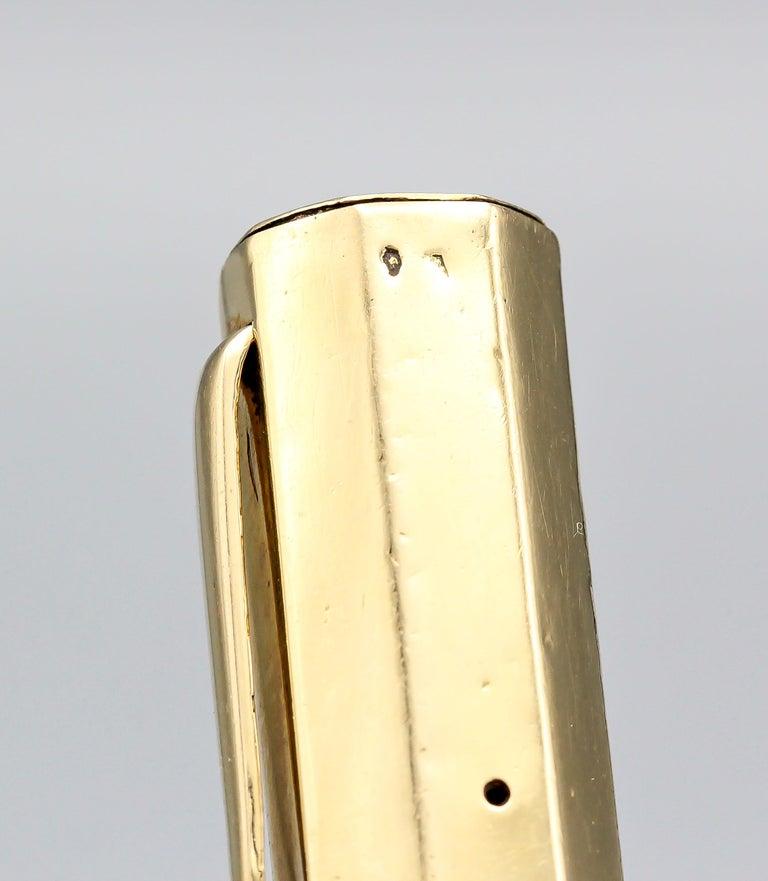 Van Cleef & Arpels Art Deco 18 Karat Gold Fountain Pen For Sale 5