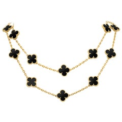 Onyx Chain Necklaces