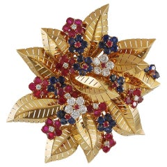 Van Cleef & Arpels Botillons Hawaii Brooch