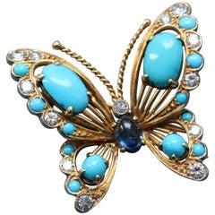 Van Cleef & Arpels Butterfly Brooch