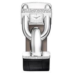 Van Cleef & Arpels Cadenas Watch Diamond & Mother of Pearl 18k