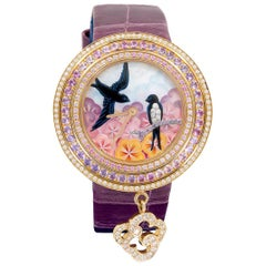 Van Cleef & Arpels Charms Extraordinaire Hirondelles Watch