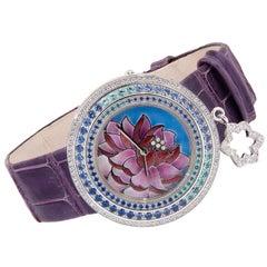 Van Cleef & Arpels Charms Extraordinaire Lotus Watch