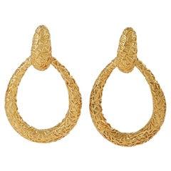 Van Cleef & Arpels Chevalerie Gold Earrings