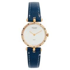 Van Cleef & Arpels Classic Yellow Gold Watch