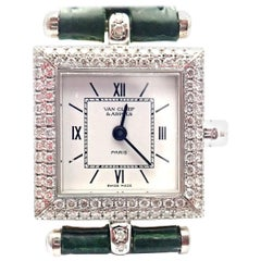 Van Cleef & Arpels Classique Diamond White Gold Watch