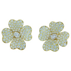 Van Cleef & Arpels Cosmos Diamond Earrings