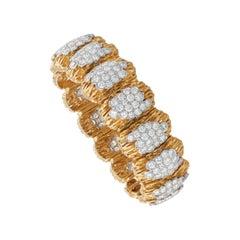 Van Cleef & Arpels Diamond and 18k Gold Bracelet