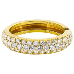 Van Cleef & Arpels Diamond and Gold Ring